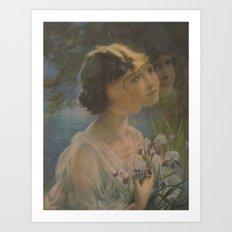 The Floating Girl Art Print