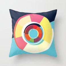 Lifesaver Circle Throw Pillow