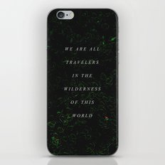 Wilderness iPhone & iPod Skin