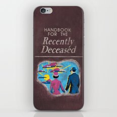 Beetlejuice - Handbook F… iPhone & iPod Skin