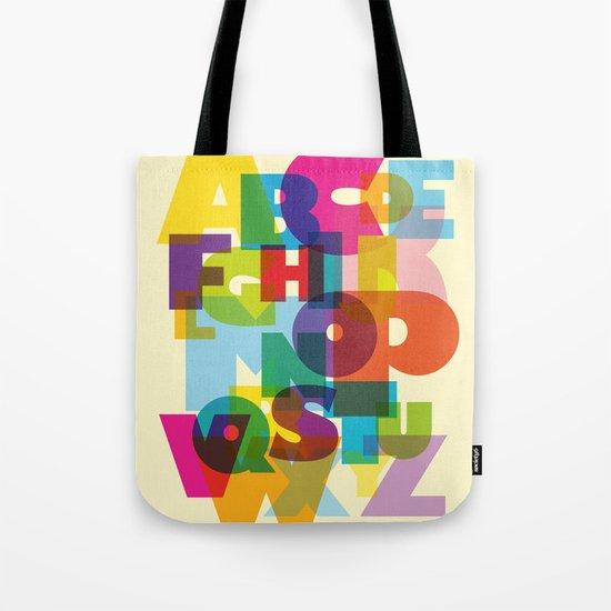 ABC in colour Tote Bag