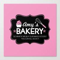 Amy's Bakery Canvas Print