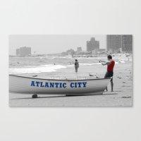Atlantic City Memories Canvas Print
