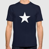 Star by Friztin Mens Fitted Tee Navy SMALL