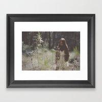 Lost In Woodland Framed Art Print
