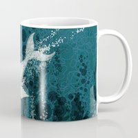 Flying Whale Underwater Mug