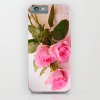roses iPhone & iPod Cases featuring Roses by Fine Art by Rina