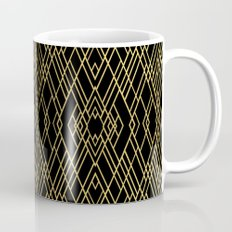 Art Deco Gold Mug