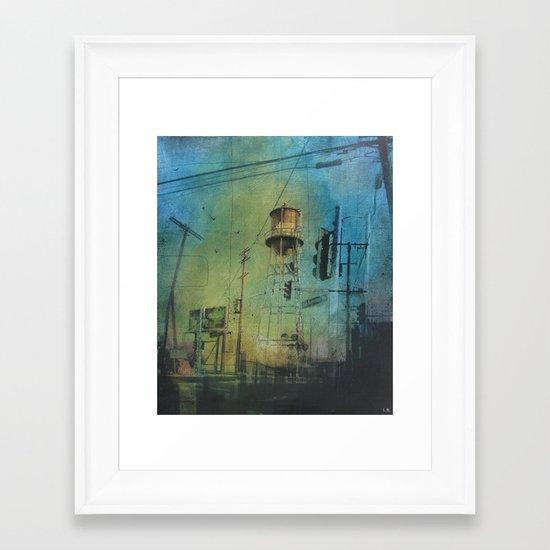 Tower 122 Framed Art Print