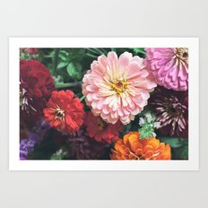 Buy Me Flowers Art Print