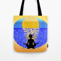 Silence: It Goes Without… Tote Bag