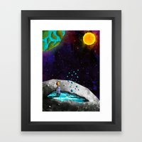 Sea of Tranquility Framed Art Print