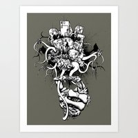 Or The Bad News First Art Print