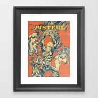 LA AMENAZA ELEGANTE Framed Art Print