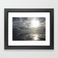 Reflections After The St… Framed Art Print