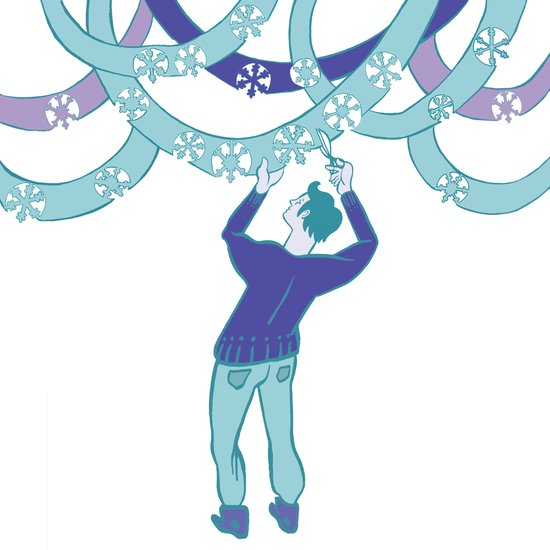 Winter Celebration Art Print