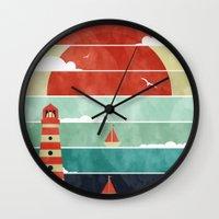 Coming Home. Wall Clock