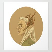 Thran The Man Art Print