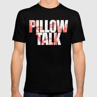 Pillow Talk Mens Fitted Tee Black SMALL