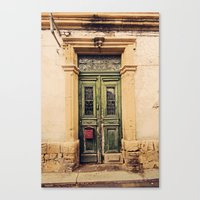 Nicosia Doorway Canvas Print