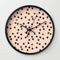 dots II Wall Clock