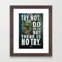 Yoda Jedi Master Giclee Art Print/ Geekery Poster / Fan Art Framed Art Print