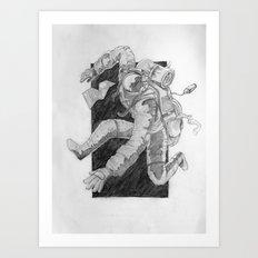 backpacking Art Print