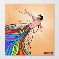Fly C'mon! Canvas Print