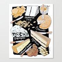 Cheese Plate! Canvas Print