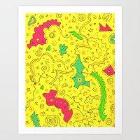 Kimmy Schmidt Art Print