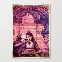 Portia - Shakespeare's M… Canvas Print
