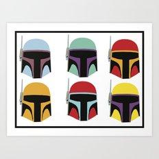 STAR WARS CLONE TROOPER Art Print