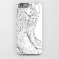 Cowboy Boots iPhone 6 Slim Case