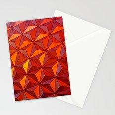 Geometric Epcot Stationery Cards