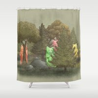Wild Gummy Bears Shower Curtain