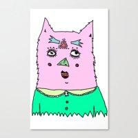 Gato Magico Canvas Print