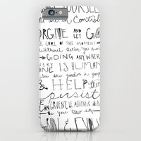 iPhone & iPod Case featuring Gandhi by Jenna Settle