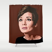 Audrey 2 Shower Curtain
