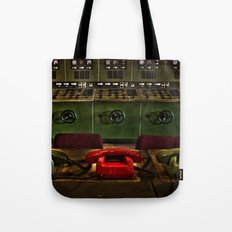 Power communications Tote Bag