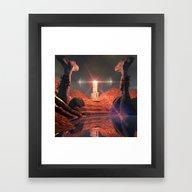 Mystical Fantasy World Framed Art Print