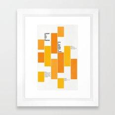 Axiome Framed Art Print