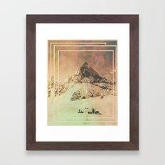 Wild Valley Mountian Framed Art Print