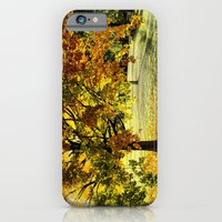 iPhone & iPod Case featuring Maple in fall colors  by LudaNayvelt