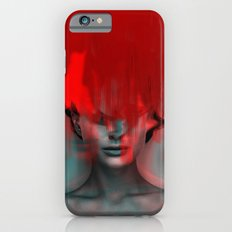 Red Head Woman iPhone 6 Slim Case