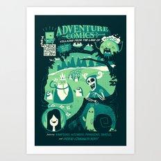 Adventure Comics Art Print
