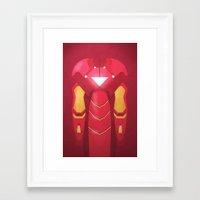 Fe Man Framed Art Print