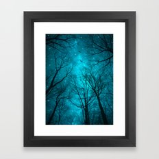 Stars Can't Shine Without Darkness  Framed Art Print