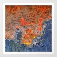Colors Of Rust / ROSTart… Art Print