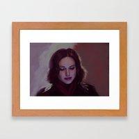 Regina Framed Art Print