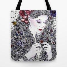 Fairest Flora Tote Bag